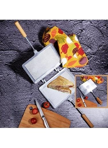 Emre Züccaciye Alüm. Ocak Üstü Tost Makinası - El Tostu Renkli